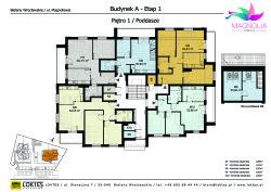 Osiedle Magnolia - Piętro - budynek A
